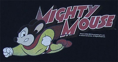 Mighty Mouse Retro - Mighty Mouse T-shirt