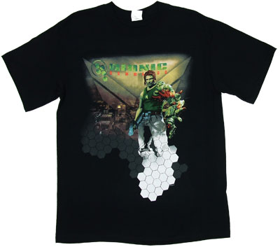 Cityscape - Bionic Commando T-shirt