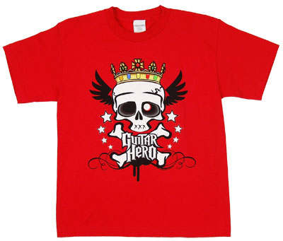 Winged King - Guitar Hero Boys T-shirt