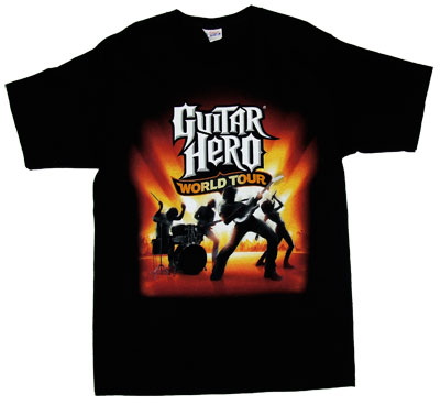 Guitar Hero World Tour T-shirt