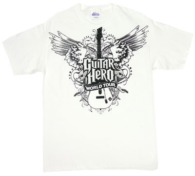 Winged Axe - Guitar Hero World Tour T-shirt