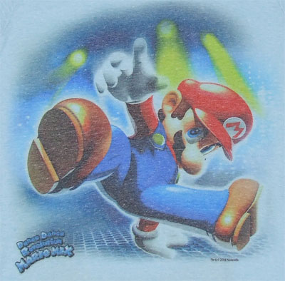Dance Dance Revolution Mario Mix - Nintendo Photo-Sheer Women\'s T-shirt