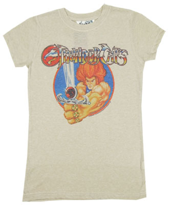 Thundercats Omen on Lion O With Sword   Thundercats Photo Sheer Women S T Shirt