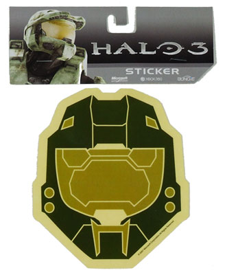 Spartan Helmet - Halo Sticker - MyTeeSpot - Your T-shirt Store