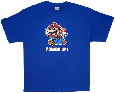 Power Up Mario - Mario - Nintendo T-shirt