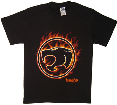Thundercats Logo (Flame) - Thundercats T-shirt