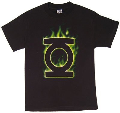 Green Lantern Logo (Flame) - Green Lantern - DC Comics T-shirt