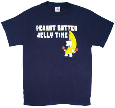 Peanut Butter Jelly Time - Brian - Family Guy