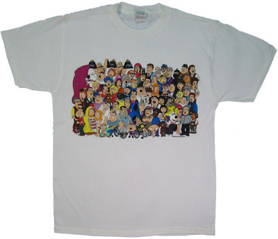 Citizens Of Quahog - Family Guy T-shirt