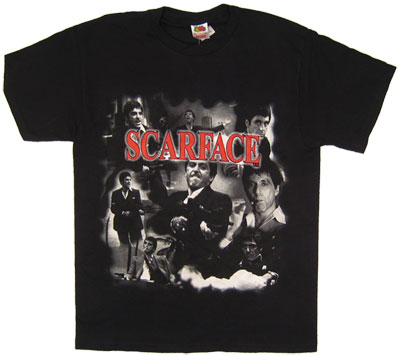 Tony Multi Image Montage - Scarface T-shirt