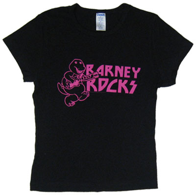 Barney Rocks - Barney Baby Tee