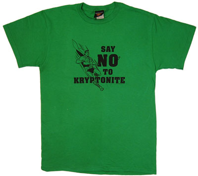 Say No To Kryptonite - Superman - DC Comics T-shirt