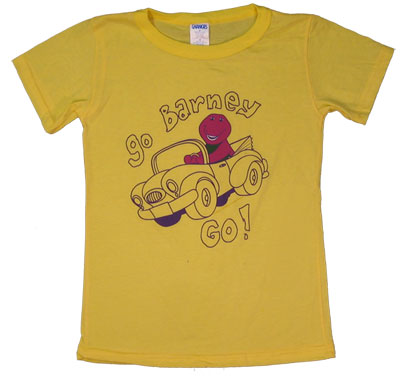 Go Barney Go - Barney Sheer Baby Tee