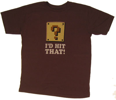I\'d Hit That - Nintendo Sheer T-shirt