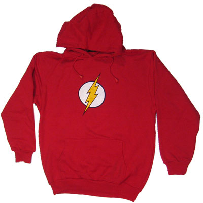 Flash Logo - The Flash - DC Comics Hooded Sweatshirt