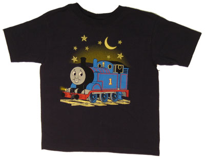 Thomas Glow In The Dark - Thomas The Tank Engine Juvenile And Toddler T-shirt