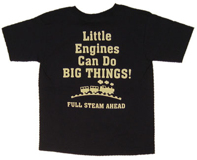 Little Engines Big Things - Thomas The Tank Engine Juvenile And Toddler T-shirt