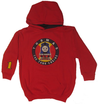 Thomas Circle Logo - Thomas The Tank Engine Juvenile And Toddler Hooded Sweatshirt