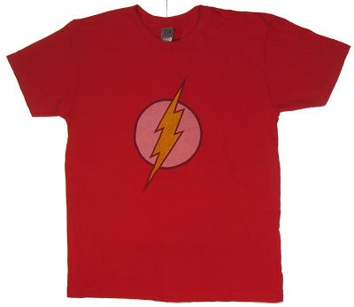 Flash Logo - Flash - DC Comics Sheer T-shirt