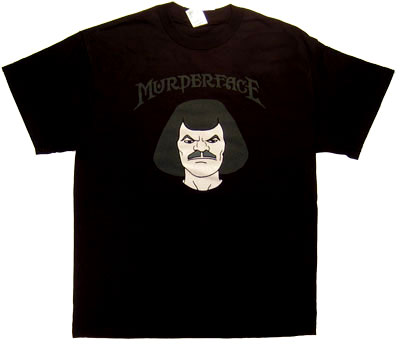 Murderface Glow In The Dark - Murderface - Metalocalypse T-shirt