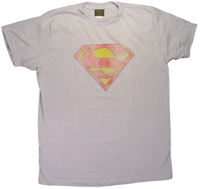 Superman Logo (Very Faded) - DC Comics Sheer T-shirt