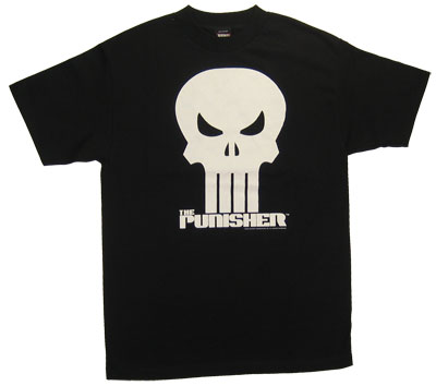 Punisher Logo - Marvel Comics T-shirt