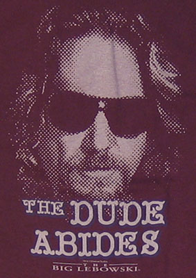 The Dude Abides - Dude - Big Lebowski T-shirt