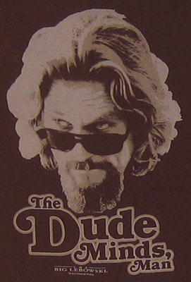 The Dude Minds - Dude - Big Lebowski Sheer T-shirt