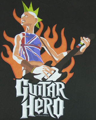 Guitar Hero Sheer T-shirt