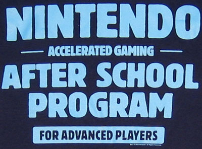 After School Program - Nintendo T-shirt