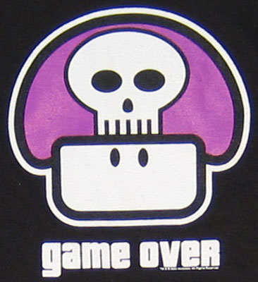 Game Over - Nintendo T-shirt