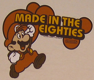 Made In The Eighties - Mario - Nintendo T-shirt