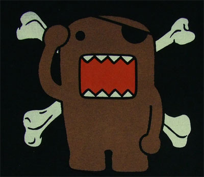 Domo Pirate - Domo-Kun Sheer T-shirt