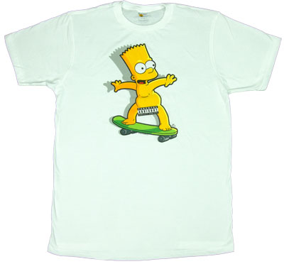 Parental Advisory - Bart - Simpsons Sheer T-shirt