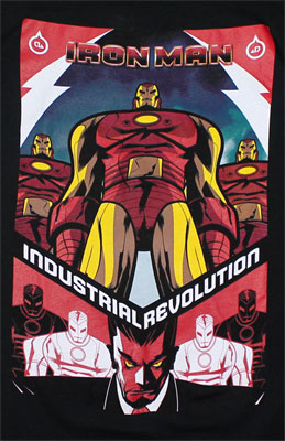 Industrial Revolution - Marvel Comics T-shirt