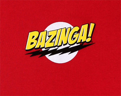 Bazinga! - Big Bang Theory Infant Onesie