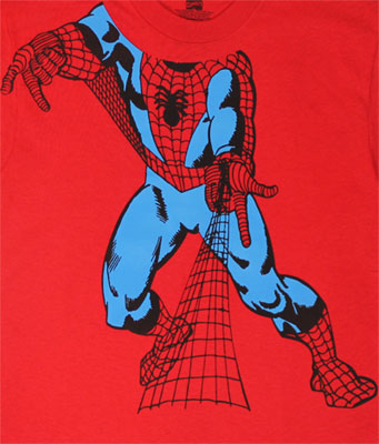 Spider-Man Body - Marvel Comics Youth T-shirt