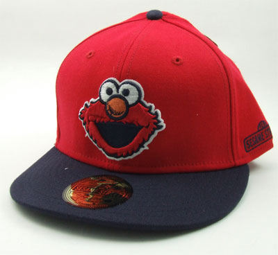 Small Elmo Face - Sesame Street Flatbill Baseball Cap