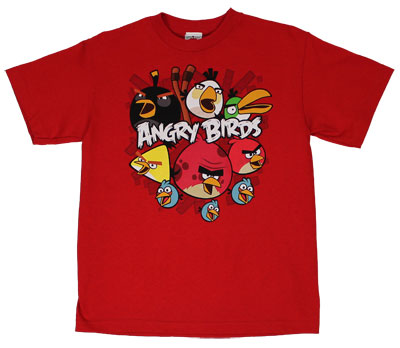 So Angry - Angry Birds Youth T-shirt