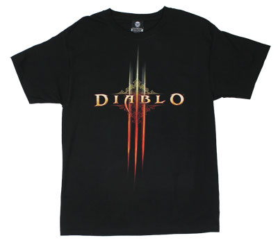 Diablo III Logo - Diablo T-shirt