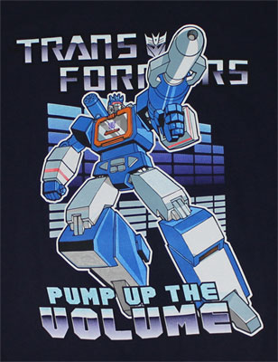 Pump Up The Volume - Transformers T-shirt