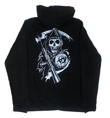 Property Of - Sons Of Anarchy Women's Hooded Sweatshirt