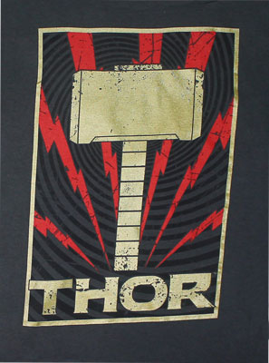 Golden Hammer - Marvel Comics T-shirt