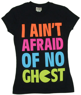 I Ain&#039;t Afraid Of No Ghost - Pac-Man Sheer Women&#039;s T-shirt