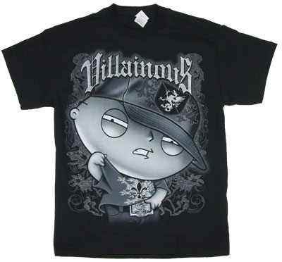 Villianous Stewie Griffin Family Guy T-Shirt