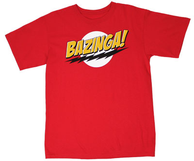 Bazinga! - Big Bang Theory T-shirt