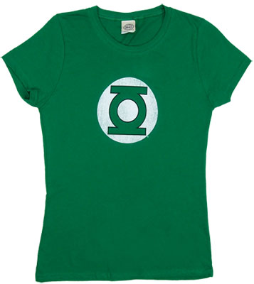 Green Lantern Logo - DC Comics Sheer Women&#039;s T-shirt