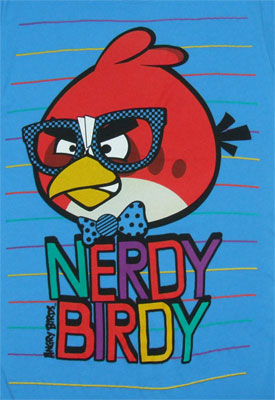 Nerdy Birdy - Angry Birds Sheer Women's T-shirt