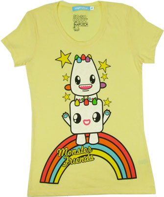 Monster Friends - So-So Happy Sheer Women&#039;s T-shirt
