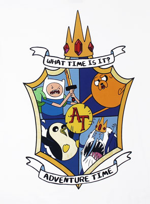 Shield - Adventure Time T-shirt